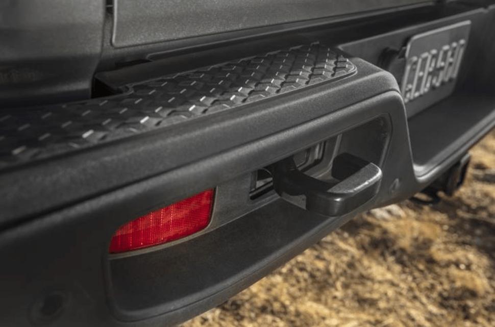 2020 Jeep Gladiator hitch