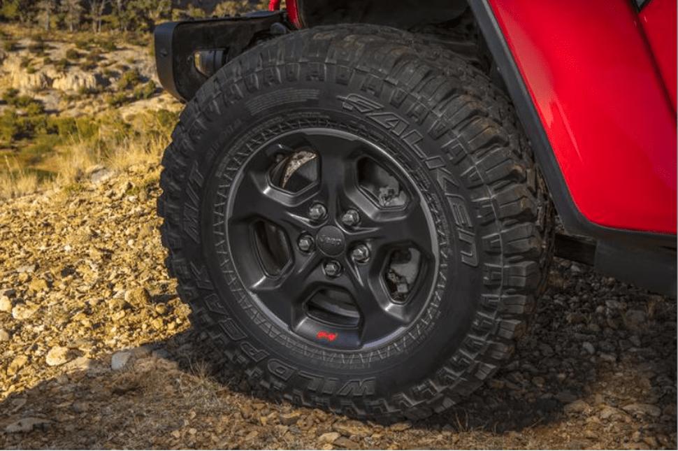 2020 Jeep Gladiator wheel