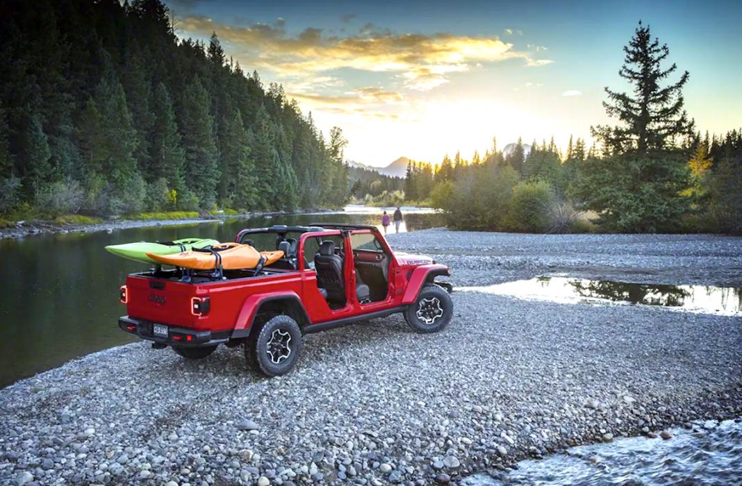 2020 jeep gladiator pickup adventure ready