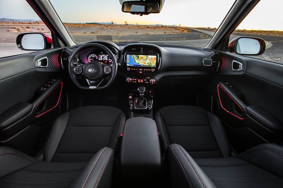 Soul GT-Line interior
