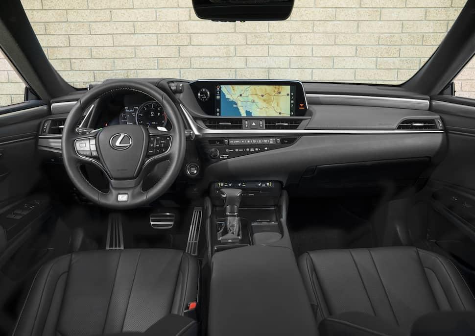 2019 Lexus ES 350 interior front cabin