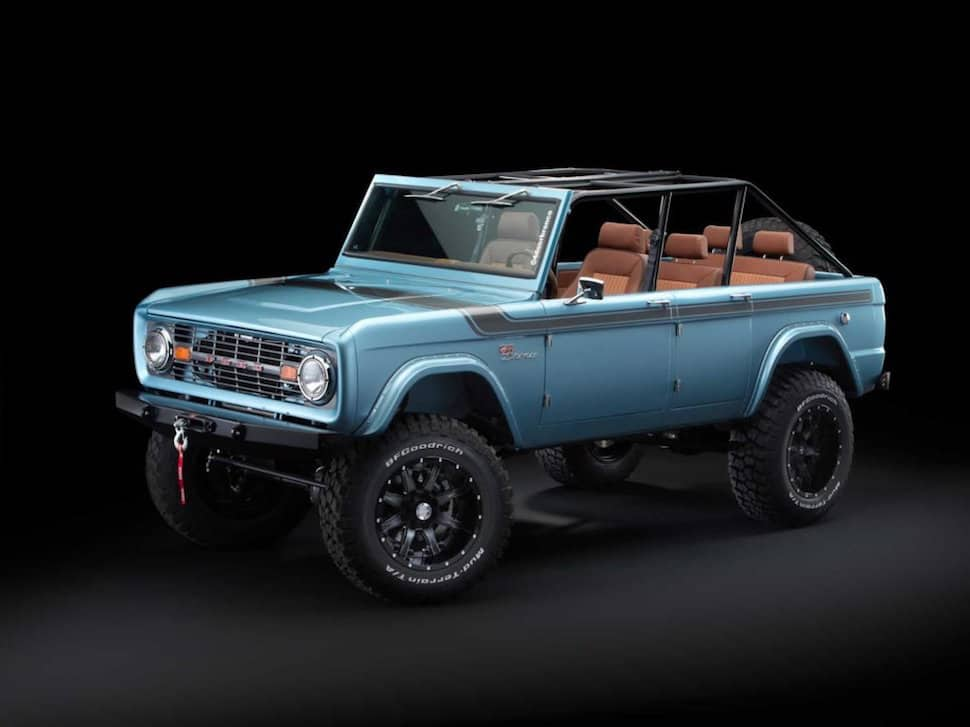 670-hp 4-Door Bronco Restored to Perfection