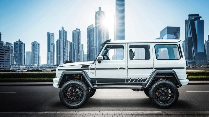 Brabus 700 4x4² one of ten Final Edition side view