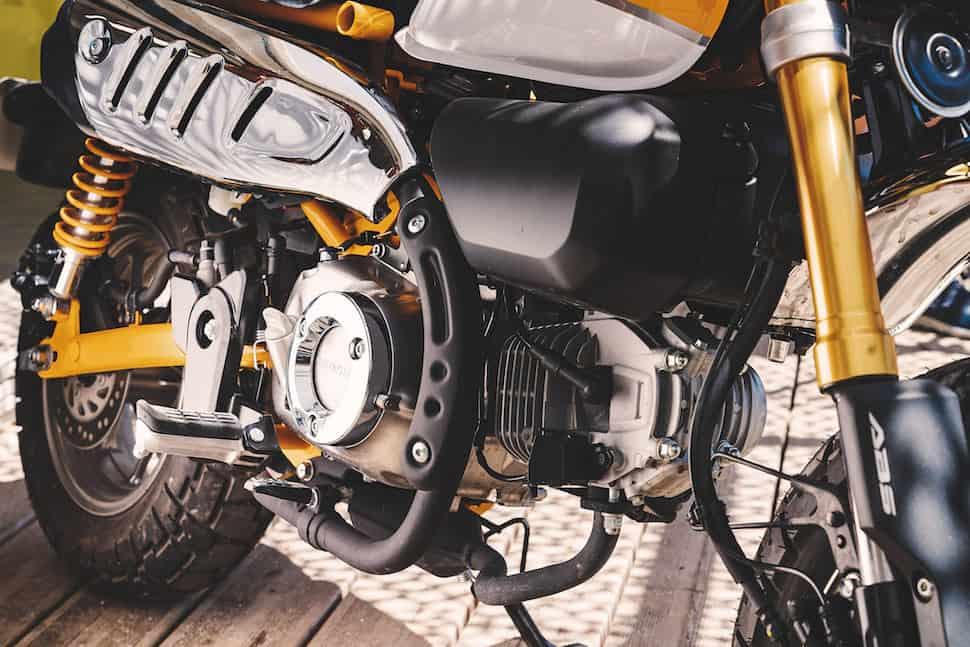 2019 honda monkey engine