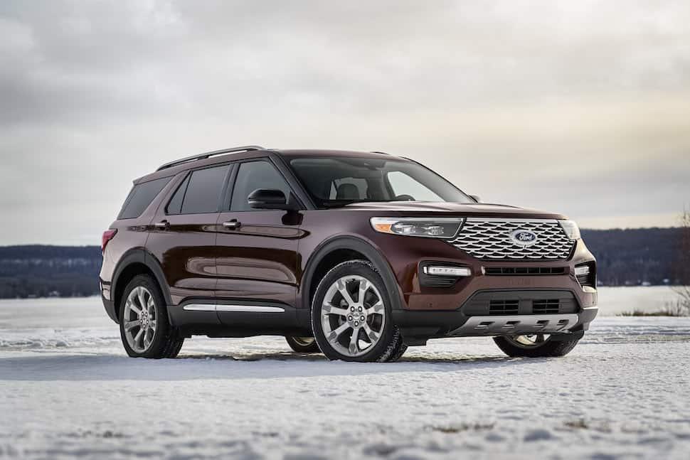 major updates   redesigned  ford explorer arriving  fall