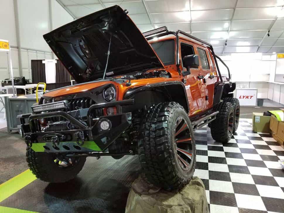 Hellcat powered 6×6 Jeep Wrangler Rubicon 6