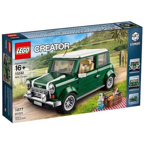 LEGO Creator Expert MINI Cooper box
