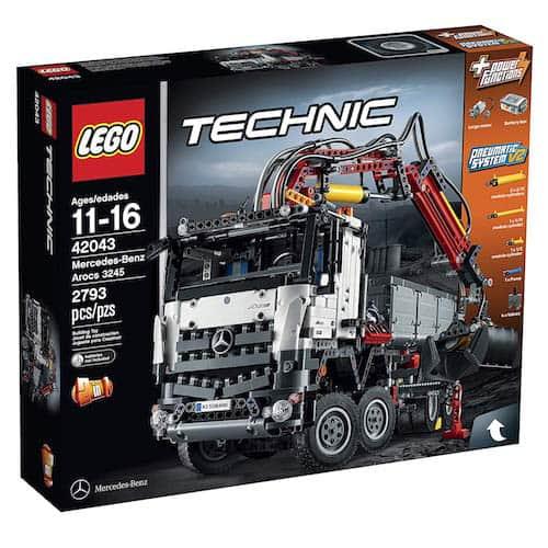 LEGO Technic 42043 Mercedes-Benz Arocs box