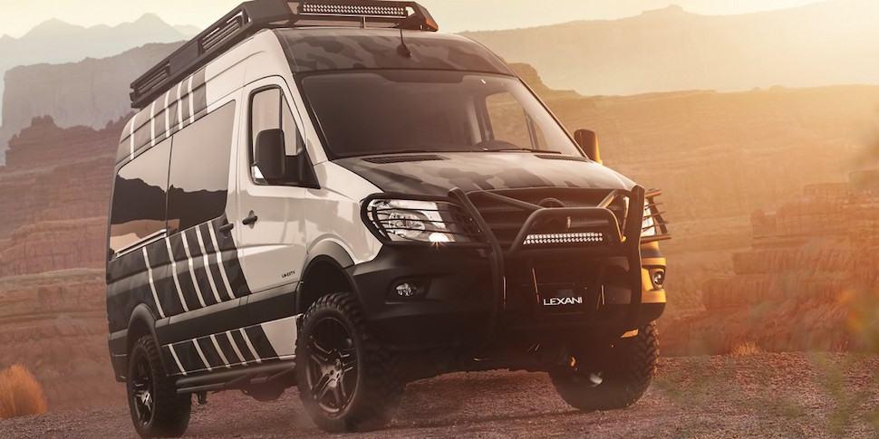 Lexani EXTV Kalahari 4x4 Sprinter Camper front