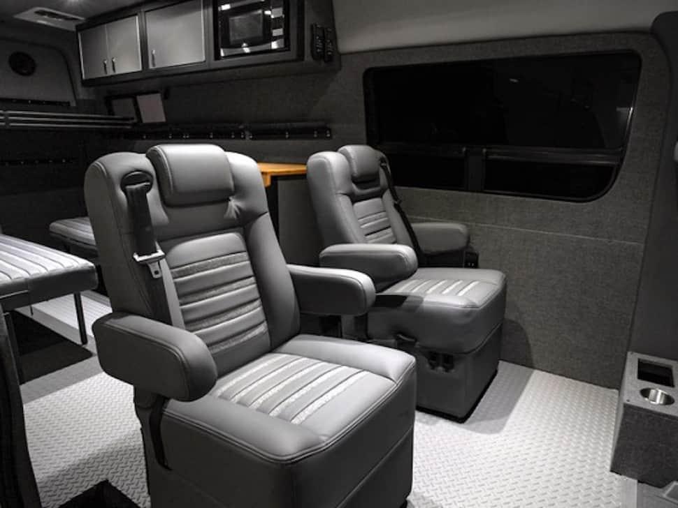 Lexani EXTV Kalahari 4×4 Sprinter Camper seats
