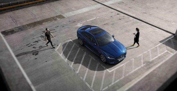 2020 Jaguar XE top