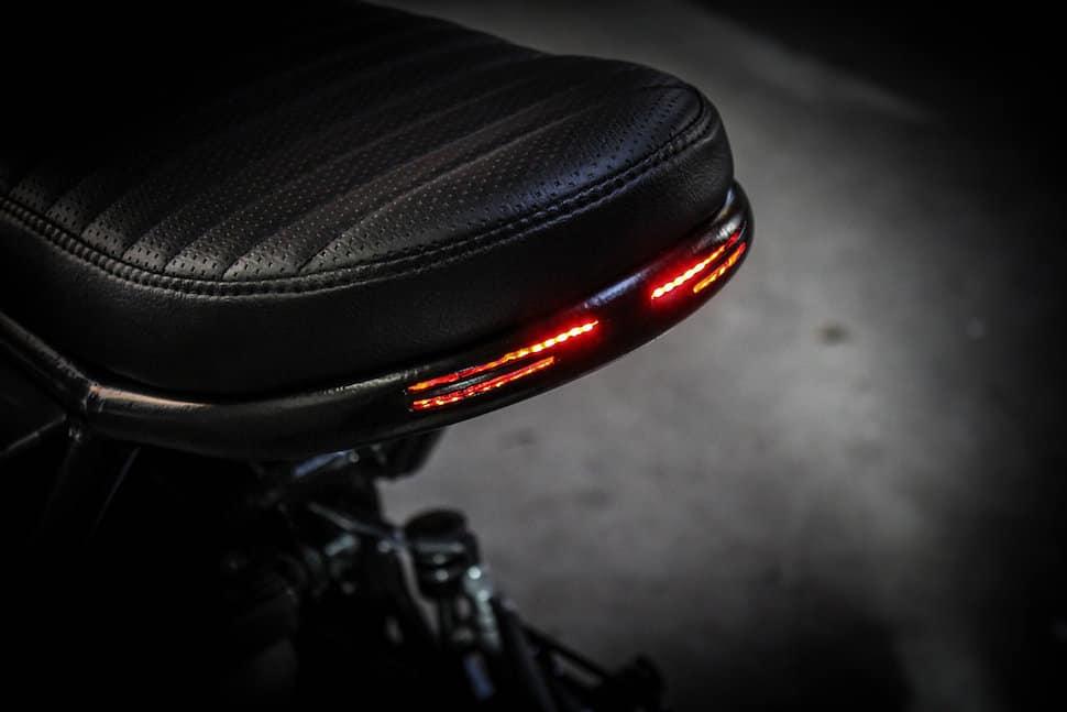 Kawasaki Z1000 Droog Moto DM-014 seat led