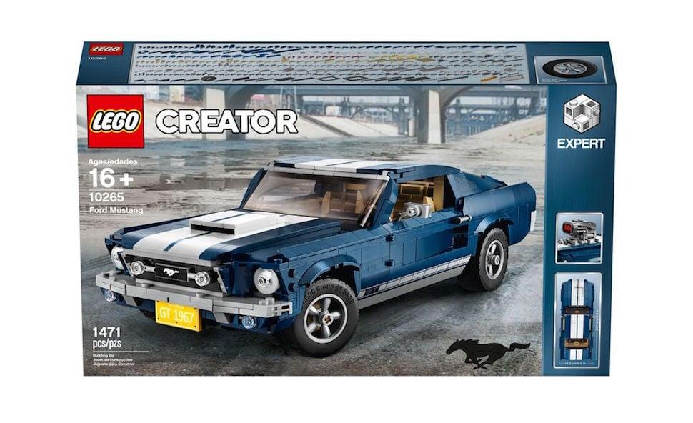 lego creator 1967 mustang fastback box