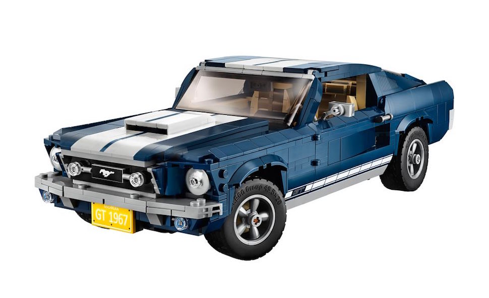 lego creator 1967 mustang fastback front 2