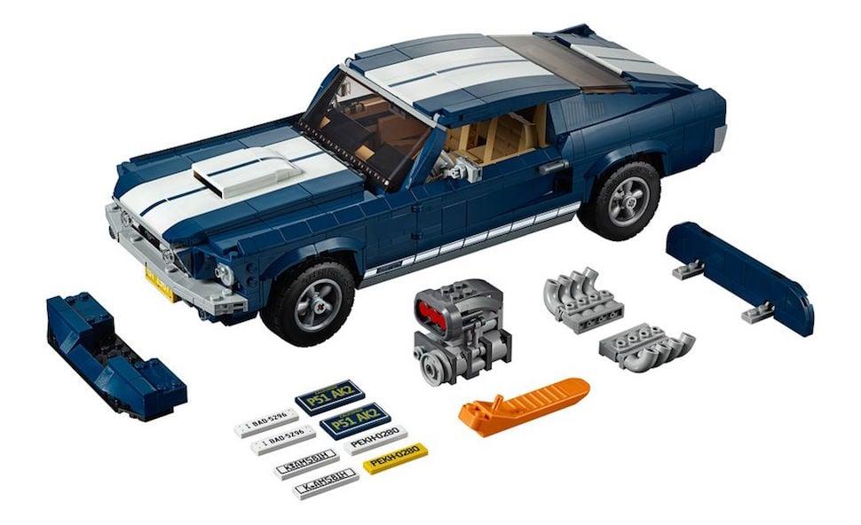 lego creator 1967 mustang fastback full set
