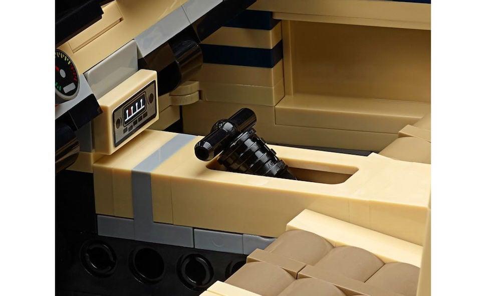 lego creator 1967 mustang fastback shifter