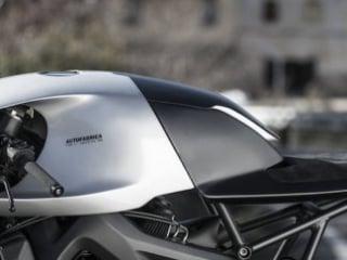 Yamaha XSR900 custom type 11 auto fabrica fairing and handlebars