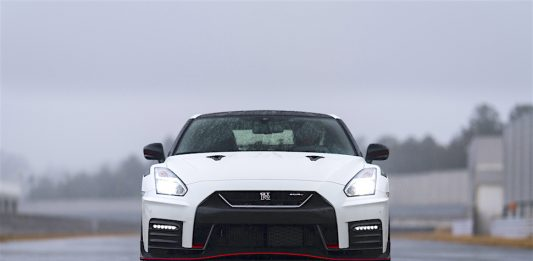 2020 Nissan GT-R NISMO front look head on