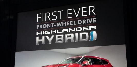 2020 Toyota Highlander hybrid global debut in NY