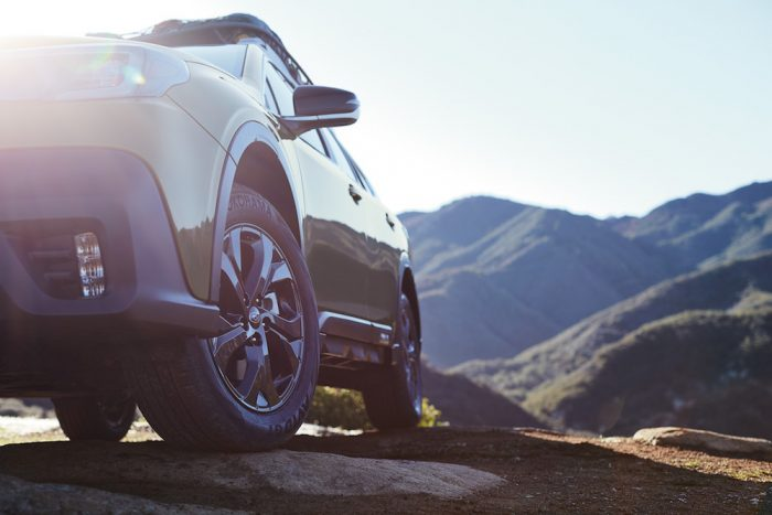 2020 subaru outback new suspension