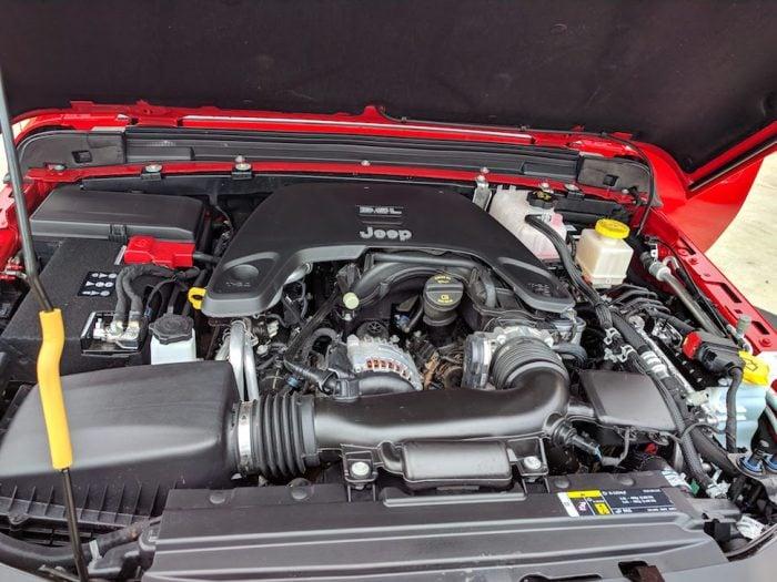2020 jeep gladiator pickup engine
