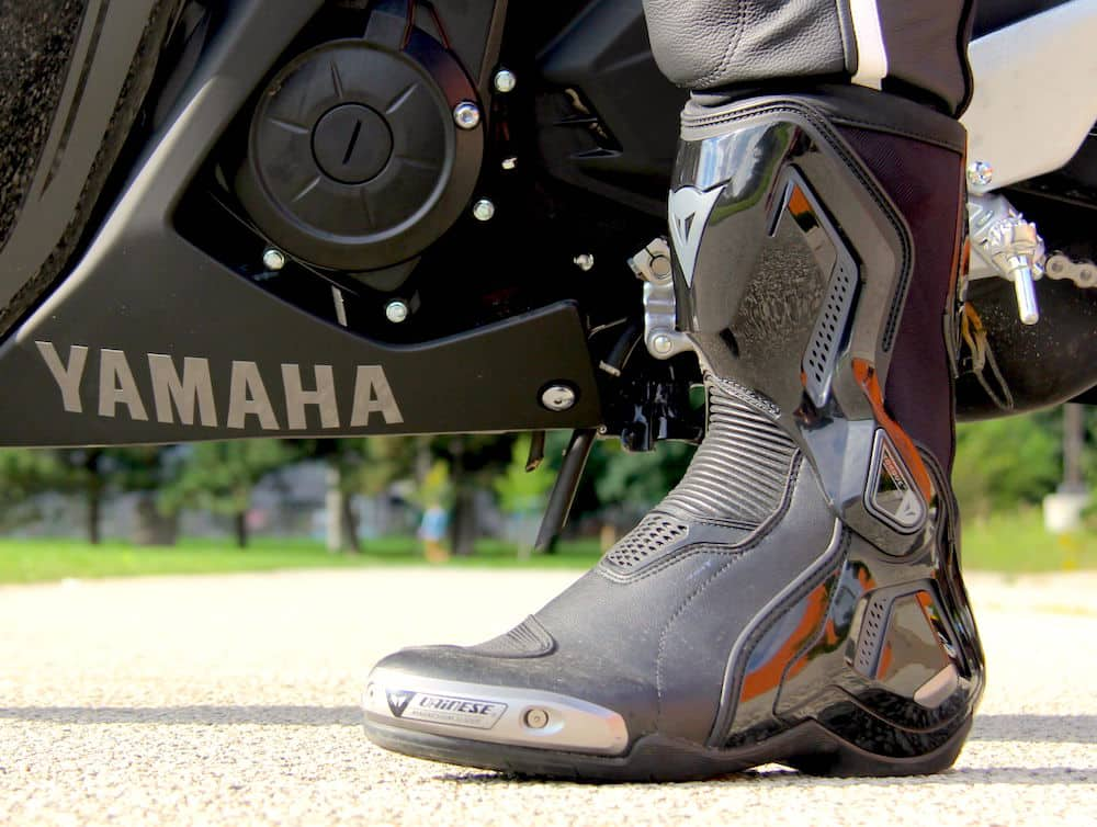 dainese d1 motorcycle boot review