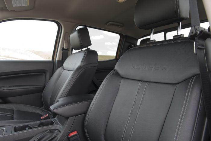 2019 Ford Ranger Lariat interior seats front