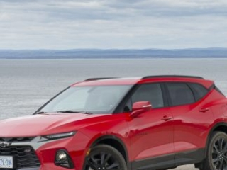 2020 Chevy Blazer RS in red amee reehal