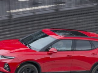 2020 Chevy Blazer RS rolling in red amee reehal