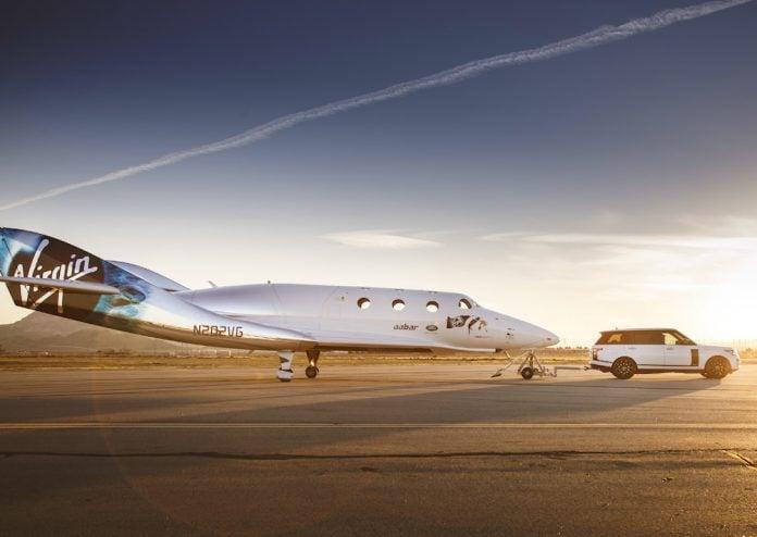 Range Rover Astronaut Edition celebrates Virgin Galactic partnership