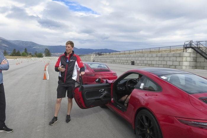 Zacharie Robichon Porsche Track Experience Precision Training Area 27