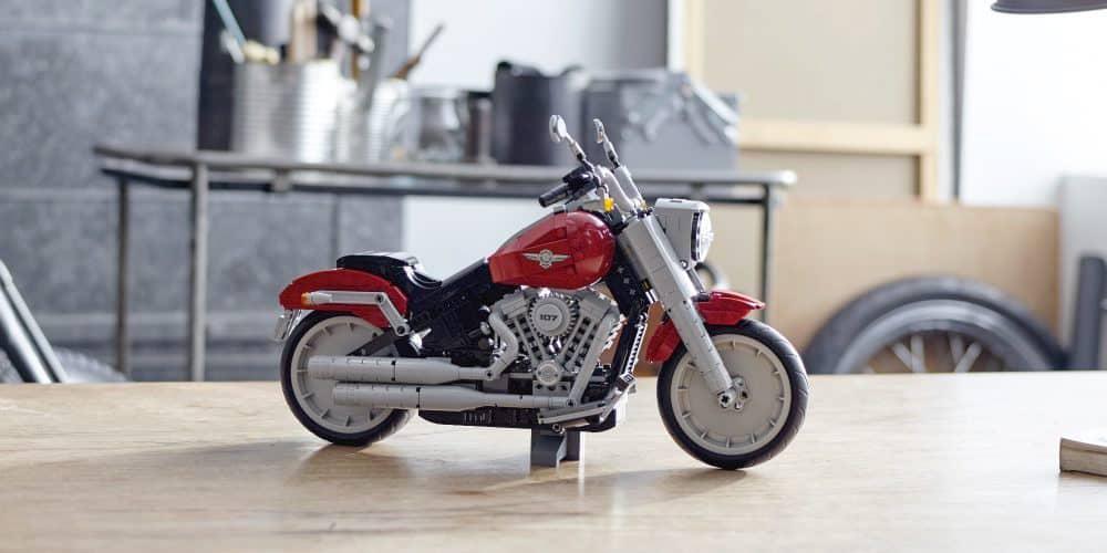 LEGO 2019 Harley-Davidson Fat Boy Creator Expert Set