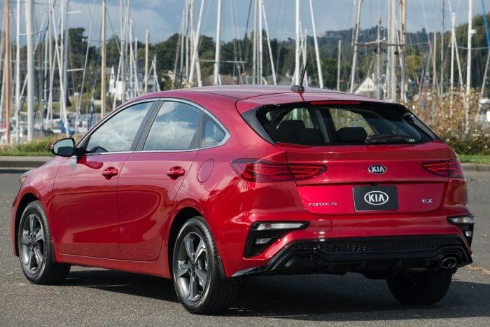 2020 Kia Forte5 hatchback review