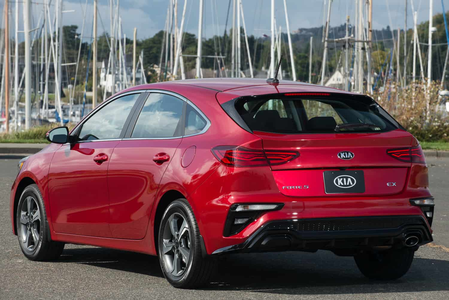 2020 Kia Forte5 hatchback review