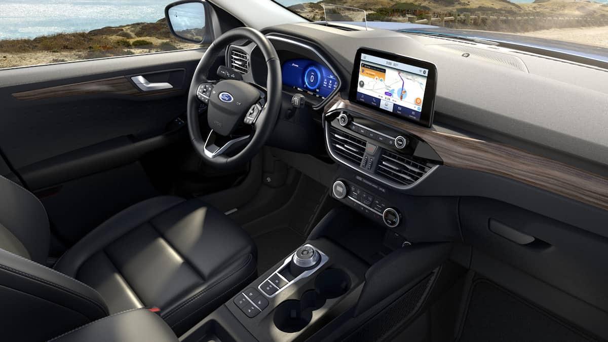 2020 ford escape review interior