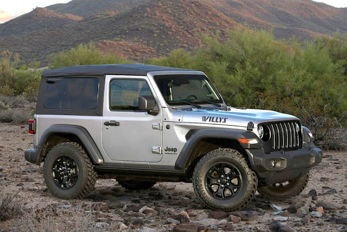 2020 jeep wrangler willys edition