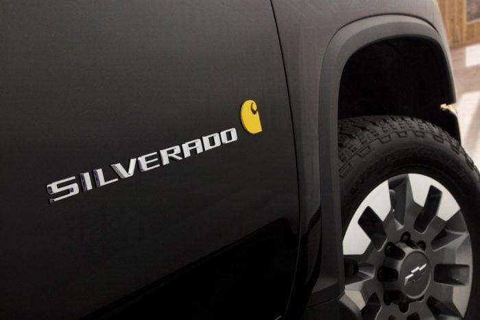 This 2020 Chevrolet Silverado 2500HD LTZ Gets the Carhartt ...