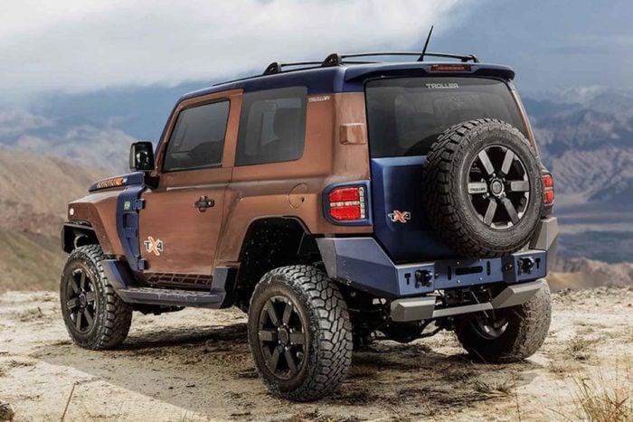 2020 Ford Troller TX4 rear