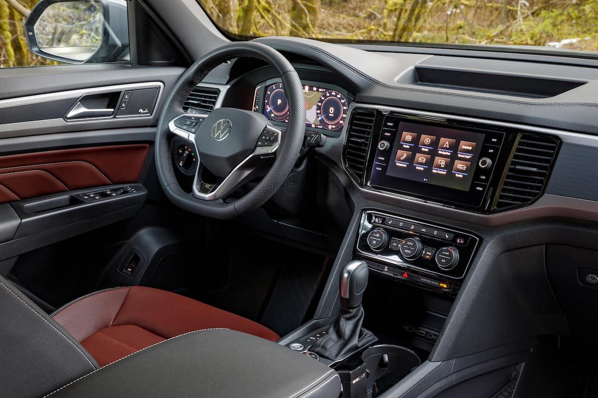 2020 Volkswagen Cross Sport interior front cabin
