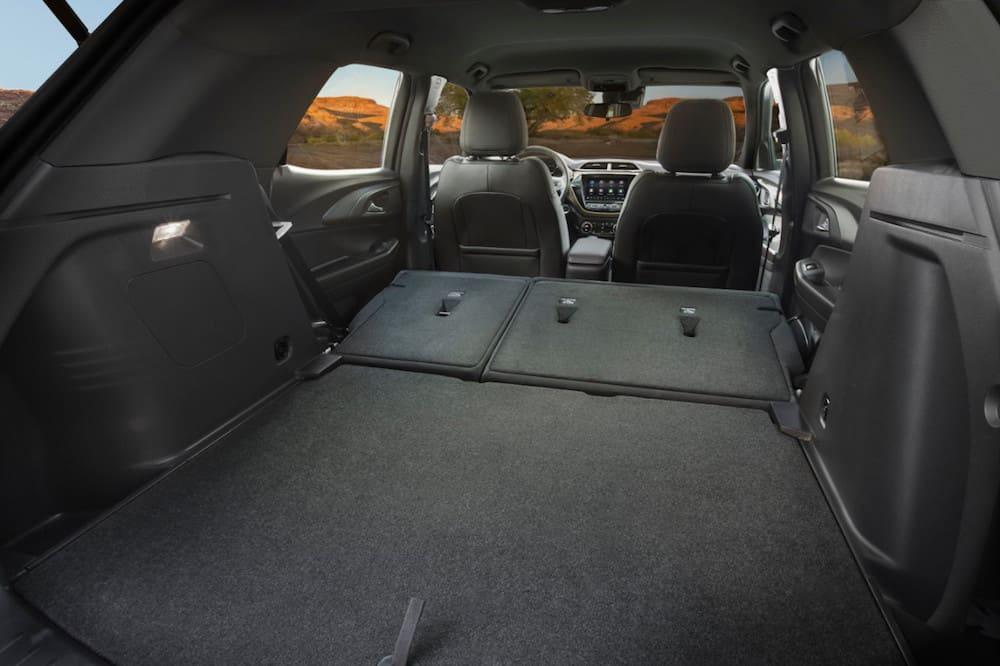 2021 Chevrolet Trailblazer ACTIV interior truck space