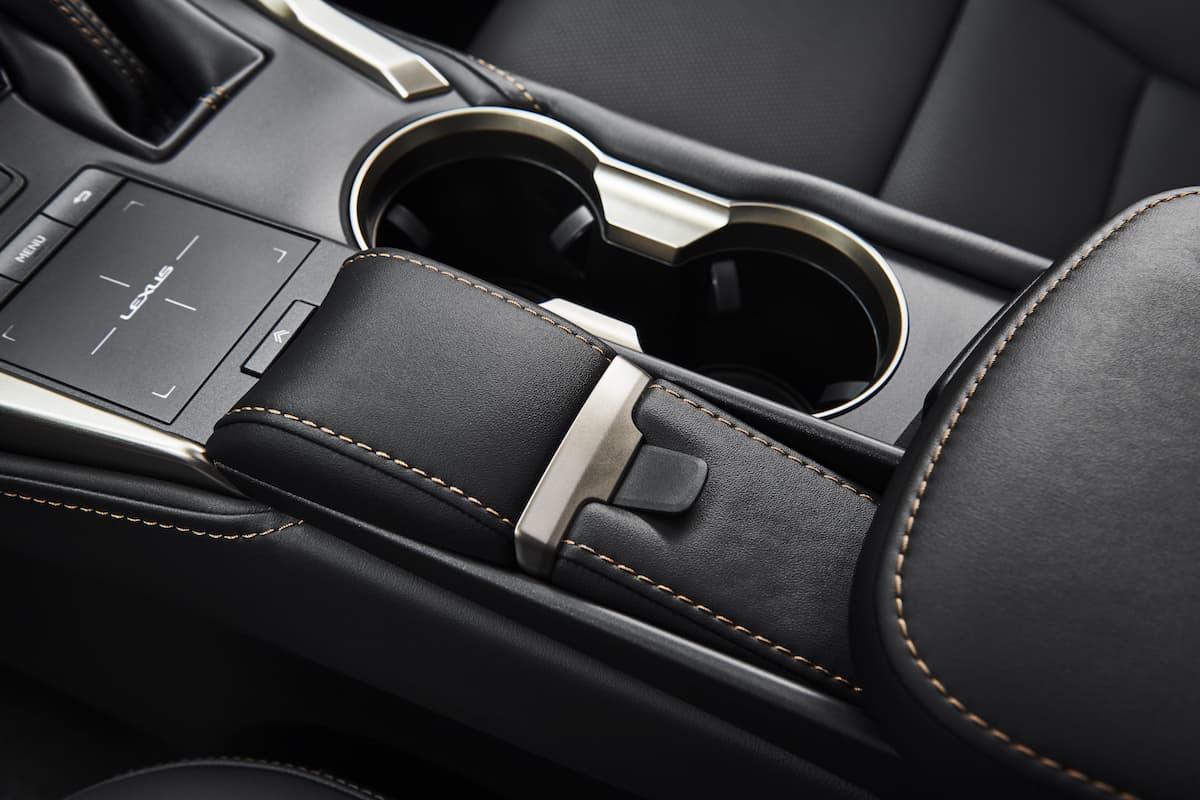 2020_Lexus_NX centre storage