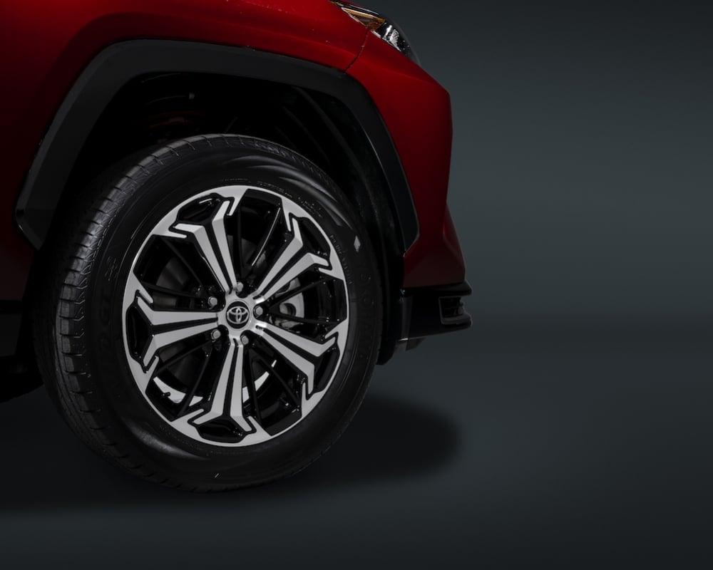 2021 Toyota RAV4 Prime wheel