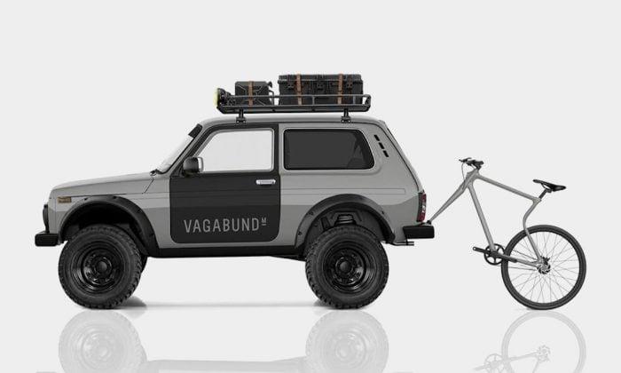 lada niva 4×4 custom by vagabund moto towing