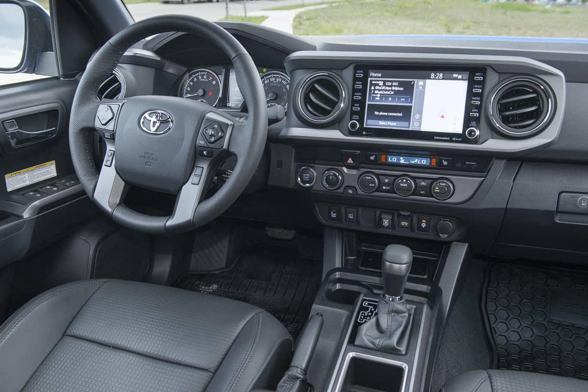 2020 Toyota Tacoma TRD interior