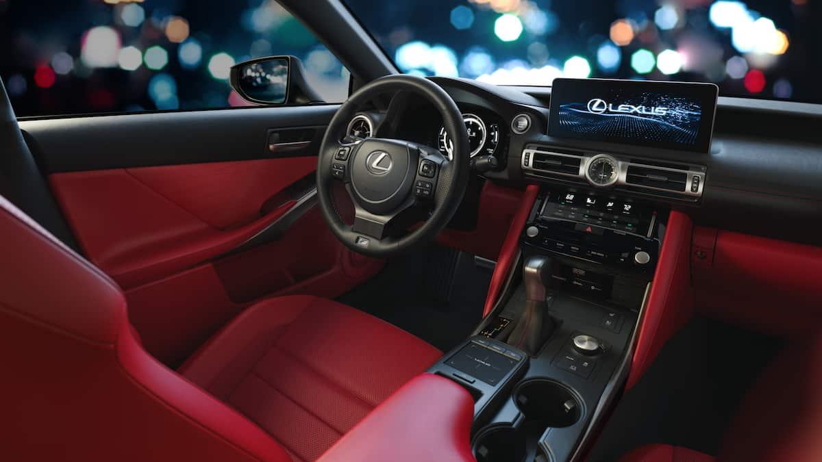 2021 Lexus IS F Sport interior