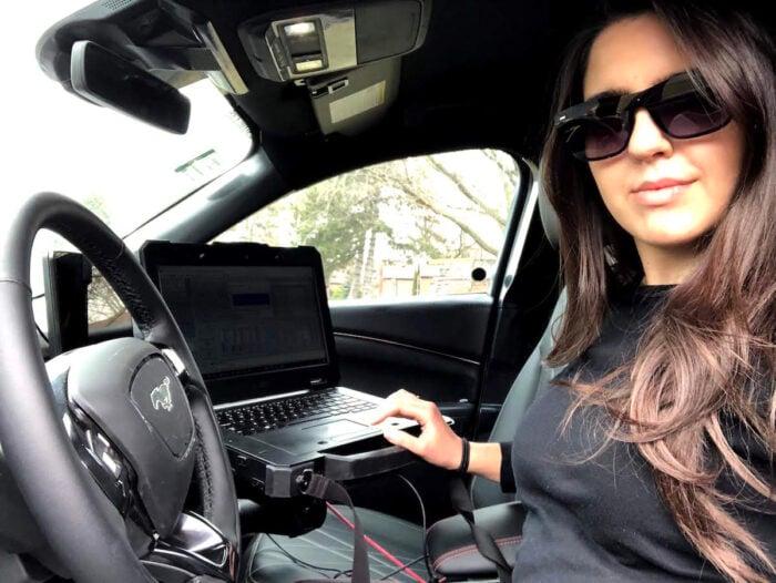 Aleyna Kapur Mach-E WFH March 2020