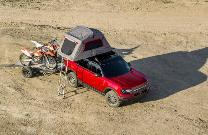 2021 Bronco Sport towing