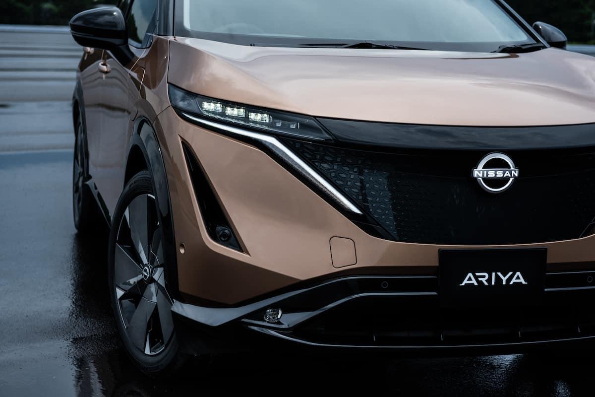 2022 Nissan Ariya all electric suv 11