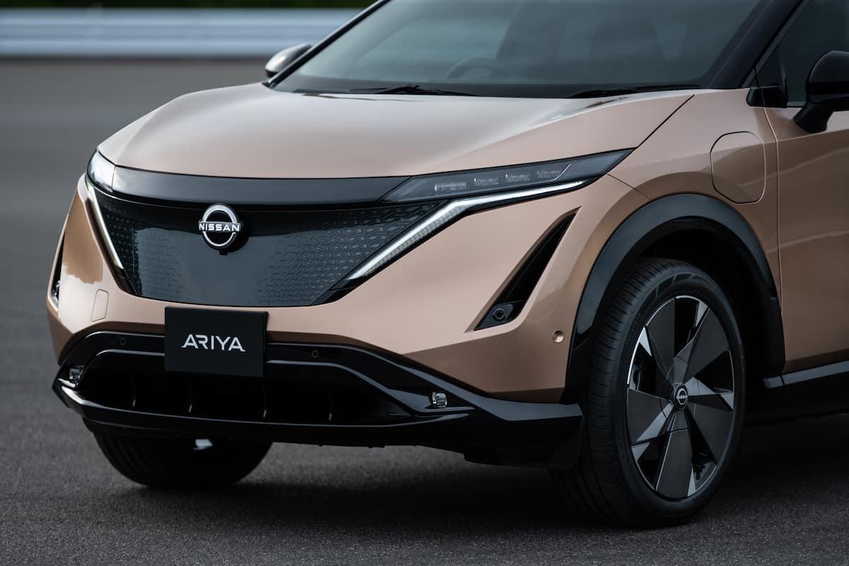 2022 Nissan Ariya all electric suv 12
