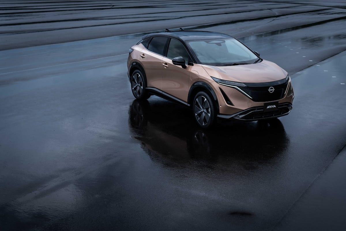 2022 Nissan Ariya all electric suv 16